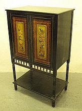 LATE 19TH CENTURY AESTHETIC TASTE EBONIZED TWO