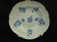 EARLY 19TH CENTURY NANTGARW PORCELAIN DISH, with