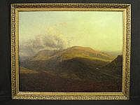 BRITISH SCHOOL (19TH CENTURY), Mountain landscape,