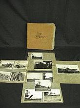 AN ALBUM OF NAVAL OR FLEET AIR ARM INTEREST, black