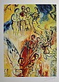 Marc Chagall, signed Lithograph