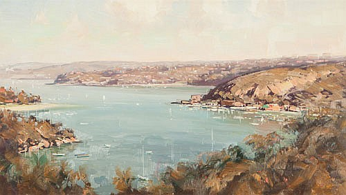 KEN KNIGHT (B. 1956), SYDNEY, Signed lower right,