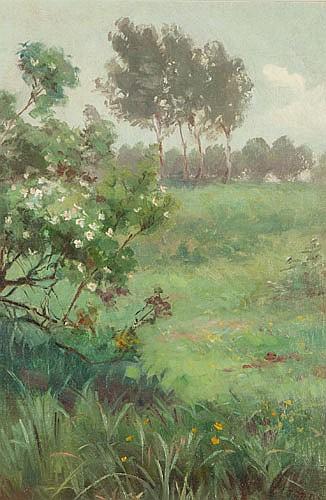 MARGARET STODDART (NZ 1865-1934), THE GARDEN