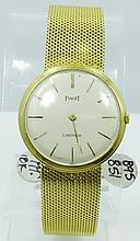 Vintage SOLID 18K Yellow Gold Piaget/Cartier Men's Watch (53.93 Grams) *Mechanical/Working*