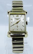 Vintage Men's Longines W/SOLID 14K yellow Gold Case