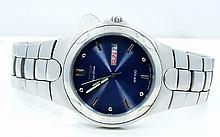 Men's Citizen SS Eco-Drive W/Blue Dial *Working*