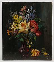 Emily Elliott signed oil on canvas