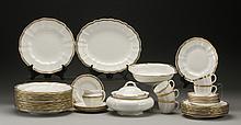 Partial set Royal Crown Derby dinnerware