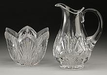 (2) Waterford crystal pieces, maker marked