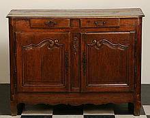 18th c. French Provincial oak commode