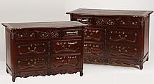 (2) 20th c. French Provincial style commodes