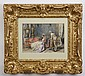 Detti signed 19th c. Italian watercolor