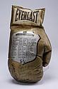 Rare autographed souvenir boxing glove