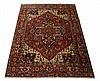 20th c. Indo-Persian wool Serapi rug, 144