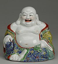 Early 20th c. Chinese porcelain Buddha