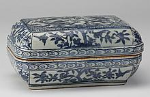 19th c. Chinese Ming style brush box