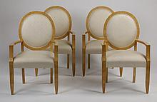 (4) Armchairs by Sally Sirkin Lewis