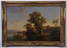 Johann Beckmann signed oil on canvas