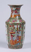 19th c. Chinese porcelain famille rose vase