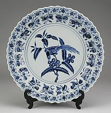 Late 19th c. Chinese Ming style charger