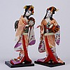 (2) Similar Japanese geisha dolls