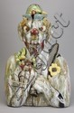 Folk art sculpture, by W. A. Flowers, 27