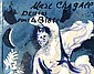 [ Books ] Chagall Marc 1887 - 1985 F Book. Marc Chagall. Dessins pour la Bible. Verve Vol. X, No. 37/38 With 23 original lithographs and 24 originial lithographs printed in colors. Cover also original lithograph. Paris, Edition de la revue Verve,