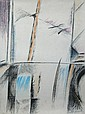 RAFOLS CASAMADA Signed Litho Spanish Art 1975 Abstract