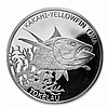 2014 1 oz Silver Tokelau $5 Yellowfin Tuna (7/8)