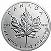 1 oz Silver Canadian Maple Leaf - Random Year