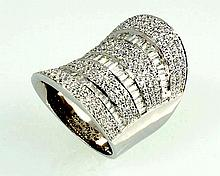 18kw Diamond Ring 4.39ct, G/SI1