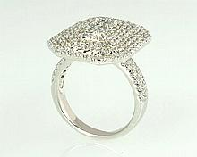 18kw Diamond Ring 2.14ct, G/SI1