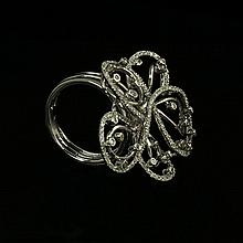 18kw Diamond Ring 1.16ct, G/SI1