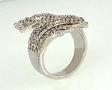 18kw Diamond Ring 1.63ct, G/SI1