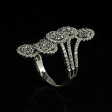18kw Diamond Ring 1.9ct, G/SI1