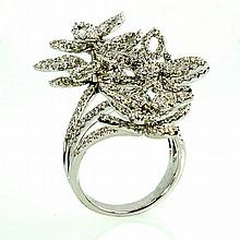 18kw Diamond Ring 3.26ct, G/SI1