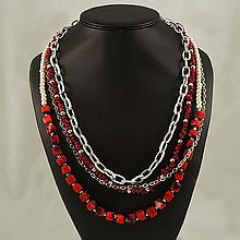 Agate Fashion Necklace ,FN0075-120180,124.10g