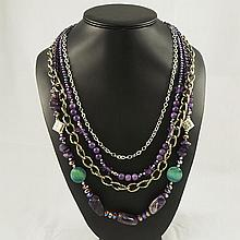 Agate Fashion Necklace ,FN0075-120180,136.80g
