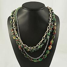 Agate Fashion Necklace ,FN0075-120180,157.20g