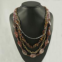 Agate Fashion Necklace ,FN0075-120180,187.58g