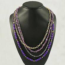 Agate Fashion Necklace ,FN0075-120180,109.10g