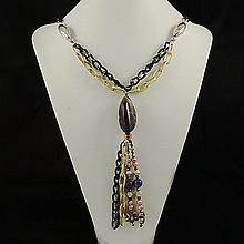 Agate Fashion Necklace ,FN0073-120100,69.20g