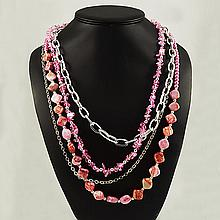 Agate Fashion Necklace ,FN0075-120180,133.90g