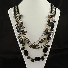 Agate Fashion Necklace ,FN0075-120180,171.70g