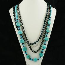 Turquoise Fashion Necklace,FN0075-120180,164.00g