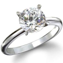 GIA CERTIFIED 0.73 Carat  SOLITAIRE RING, H,I2