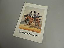 A set of 20thC German military prints, each