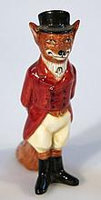A Royal Doulton figure, The Huntsman Fox E6448, printed marks beneath, 13cm high.
