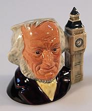 A Royal Doulton international collectors club character jug, John Doulton D6656, signed to the base,