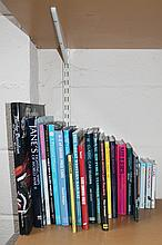 A quantity of books on transport and motor racing, to include on Jaguars, The A-Z Of Grand Prix Cars